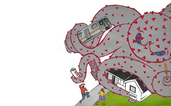 covid 19 pandemic housing insecurity housing crisis illustration by Fabian Williams