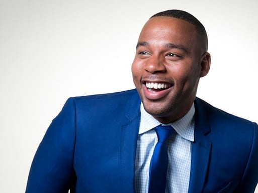 Christian Hill, one of six Andrew Young School alumni chosen as Georgia State's 40 under 40