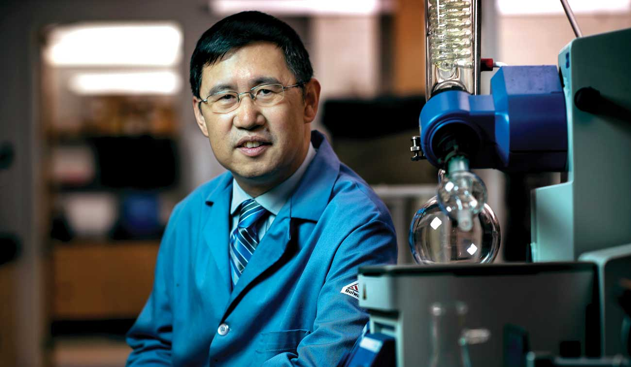 A photo of Binghe Wang, Regents' Professor of Chemistry at Georgia State