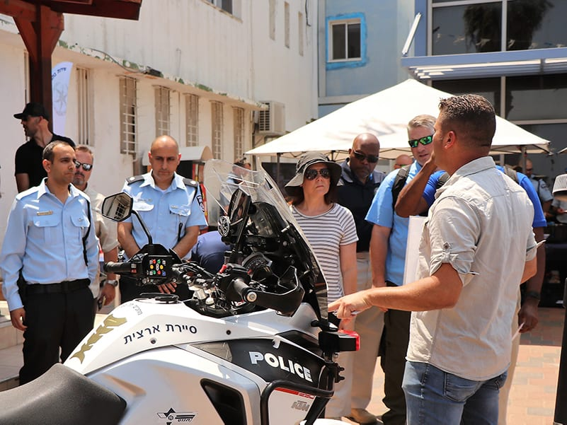 Georgia public safety executives are trained by Israeli police executives