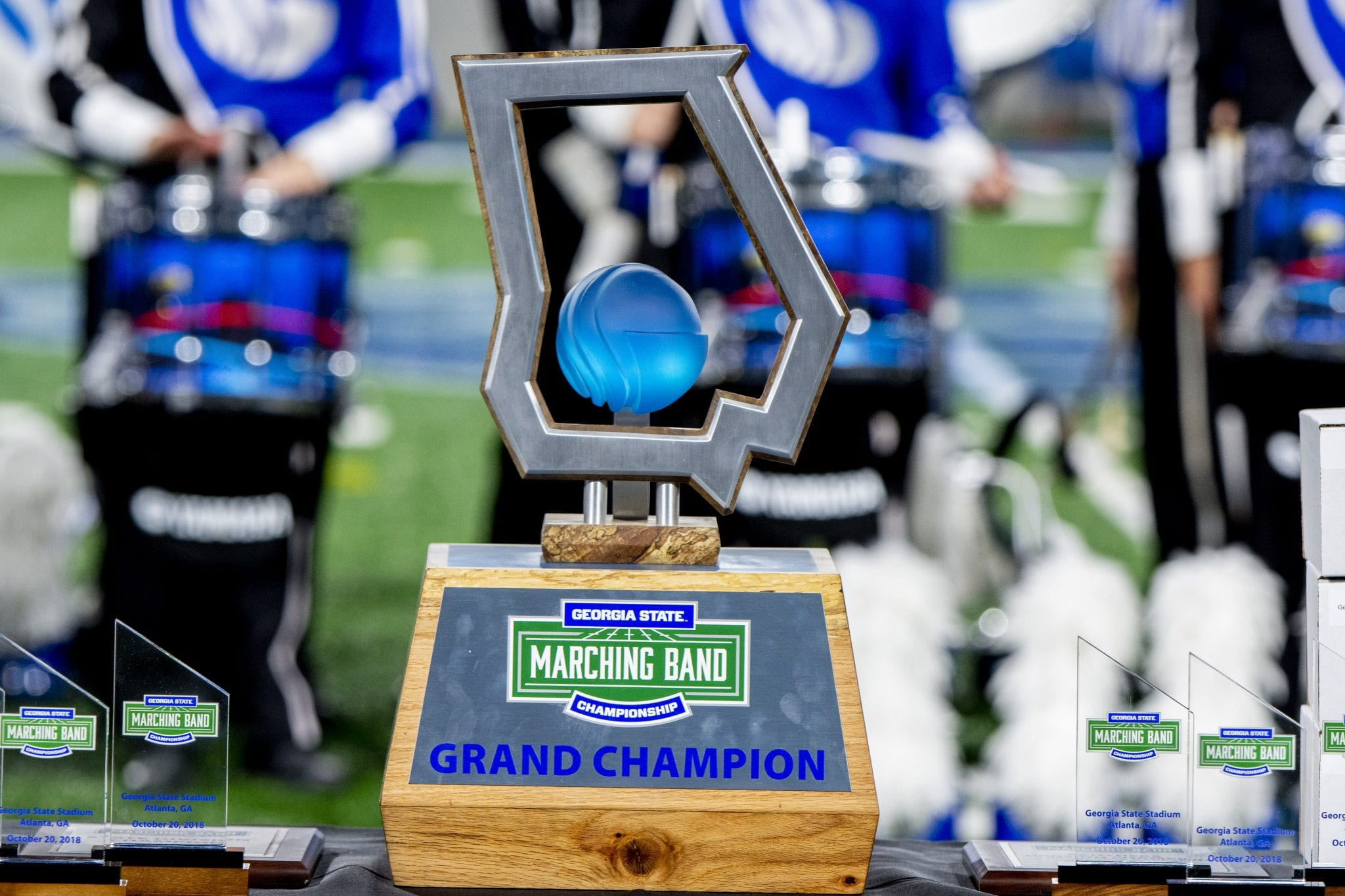 Georgia State Marching Band Championship Grand Champion Trophy