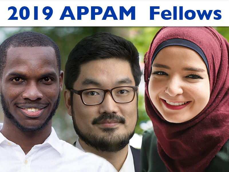 2019 APPAM Fellows from the Andrew Young School