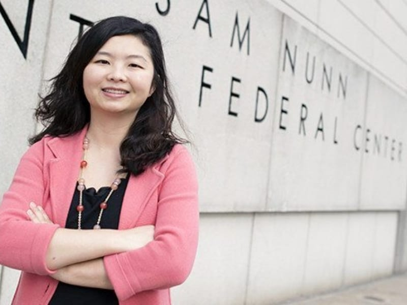 Cathy Yang Liu, Chair of the Deparment of Public Management & Policy