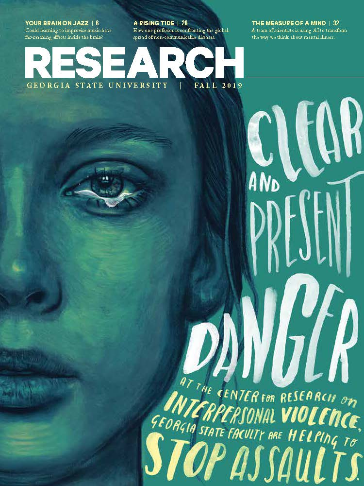 Research Magazine Fall 2019 cover