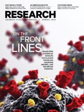 research magazine spring 2020 cover