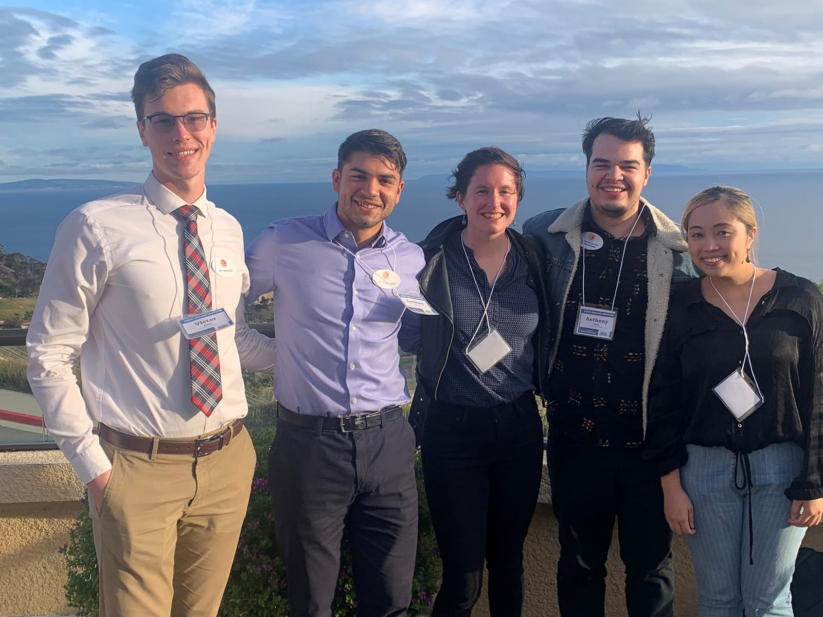 Andrew Young School students at the NASPAA-Batten Competition at Pepperdine University