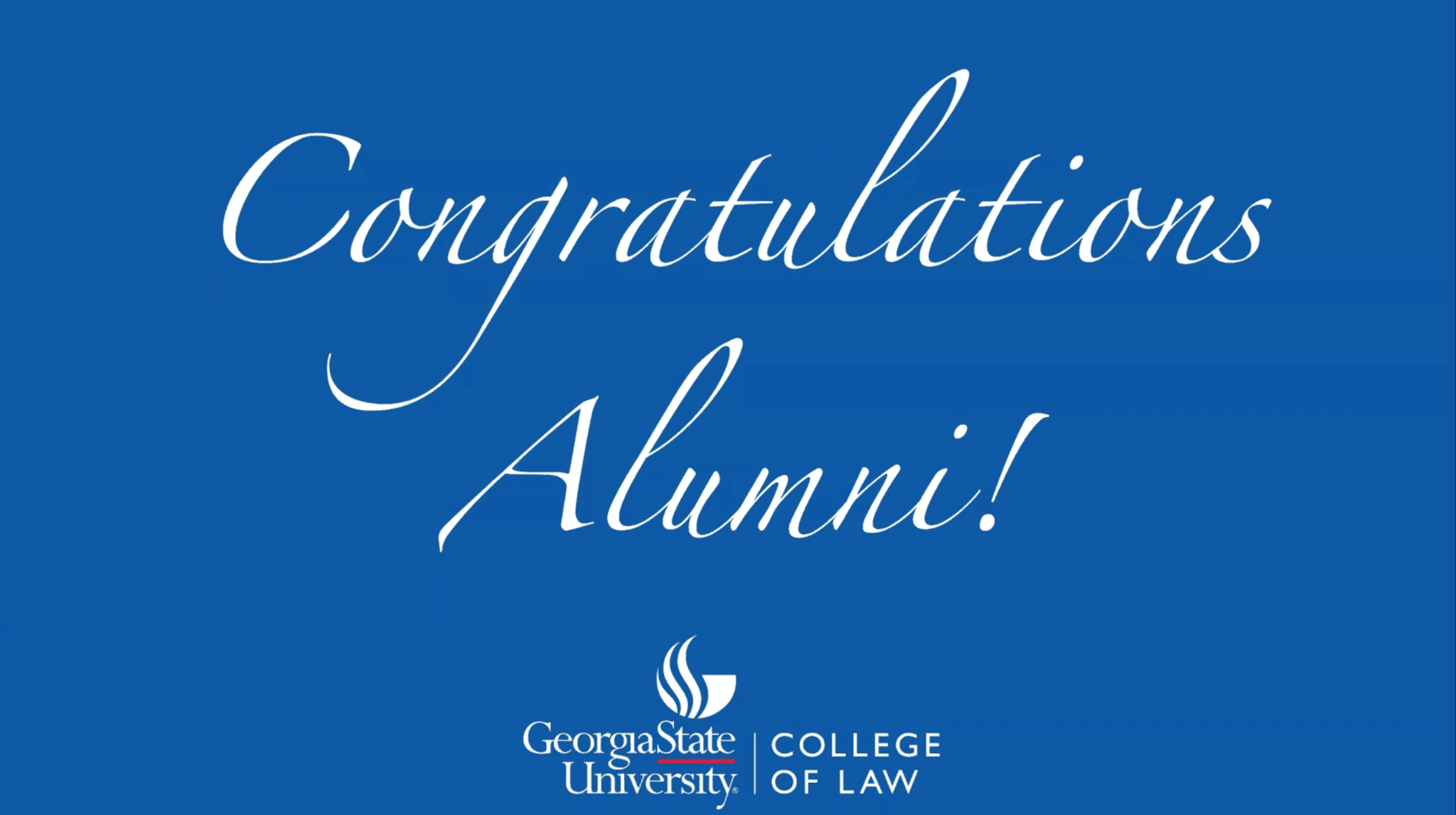 Congratulations Alumni - College of Law