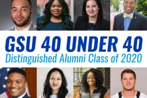 Eight Graduates of the Andrew Young School selected for the 40 under 40 distinguished alumni class of 2020