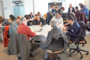 Researchers from Georgia Tech and the Andrew Young School collaborate at the Computing the Public Interest Workshop